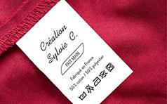 Étiquettes textiles
